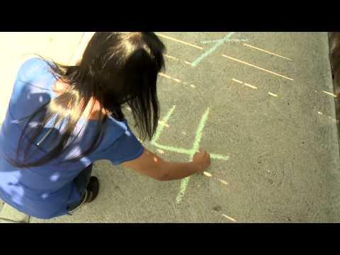 Taking Math Outside: Sidewalk Chalk Math