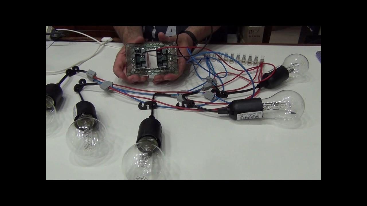Schema Elettrico Lampadario Doppia Accensione : Come si crea la doppia accensione su un lampadario pillola n