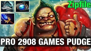 7K HP Zipfile 2908 GAMES WITH PUDGE - 41 Flesh Heaps  - Dota 2