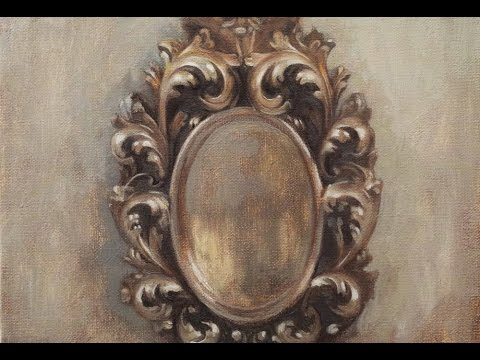 "oil painting live stream ""old mirror"" 2"