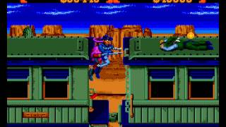 Sunset Riders Sega Genesis- 2 player Netplay game