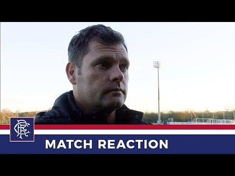 RESERVES REACTION   Graeme Murty   Rangers 5-0 Kilmarnock
