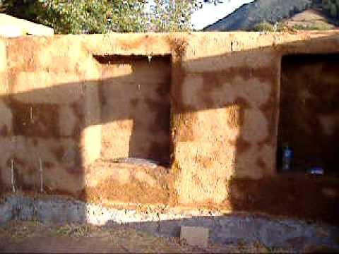 casa de pacas de paja en michoacn