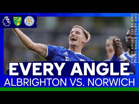 Marc Albrighton, winner of Carrow Road |  Every angle