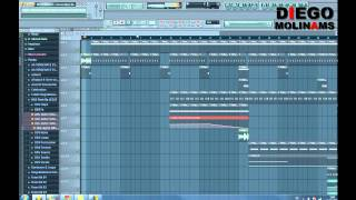 FL Studio Remake Nicky Romero - Generation 303 (Drop) [DiegoMolinams]