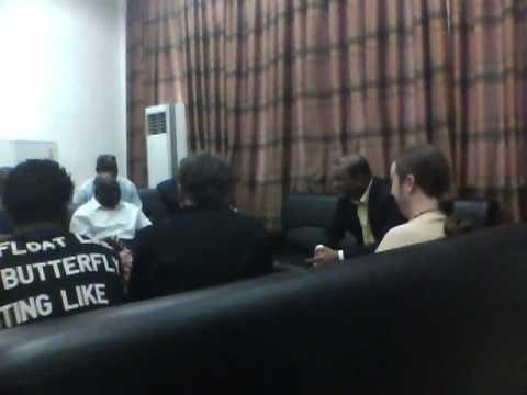 President of Guyana meets Hecor Camacho Jr Zahir gets caught on tape!