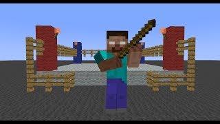 Monster School: Weaponry (Minecraft Animation)