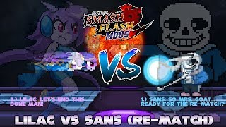 Gambar cover SSF2 Mod Battle: Lilac vs Sans (RE-MATCH) (by Lexter)