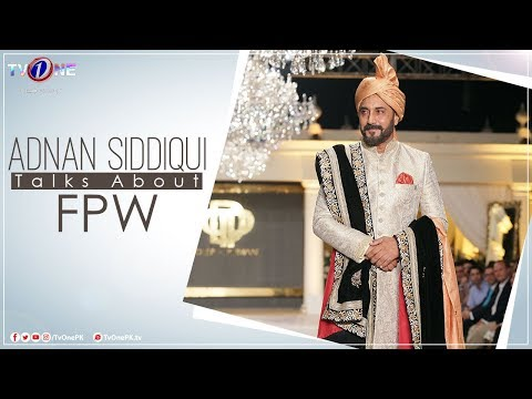 Adnan Siddiqui Our Lead Artist Of Tv One's Mega Drama Serial Ghughi has to say about FPW'18