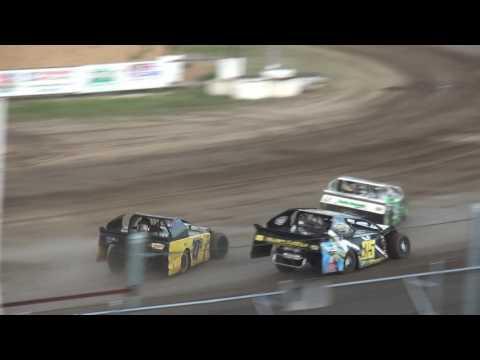 IMCA Sport Mod feature Independence Motor Speedway 6/3/17