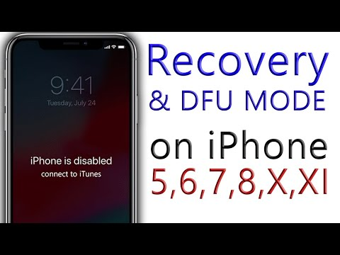 iPhone how to Force Restart, enter Recovery, and DFU mode all method 2019