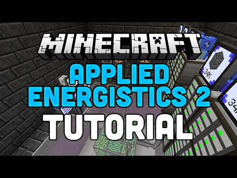 Applied Energistics 2 Tutorial - Minecraft Mod AE2 - Channels, P2P Tunnels & Autocrafting