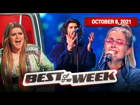 The best performances this week on The Voice   HIGHLIGHTS   08-10-2021