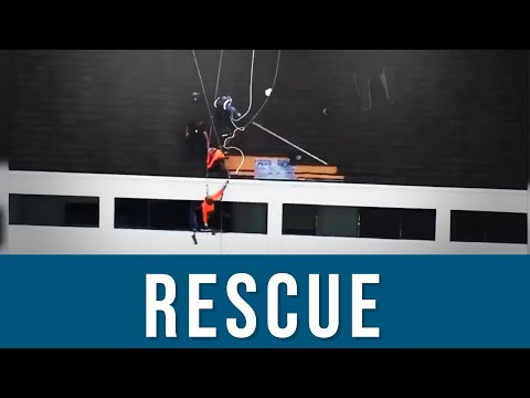 How To Rescue A Fallen Worker From A Roof | Fall Protection, OSHA, Training, Workplace Accident