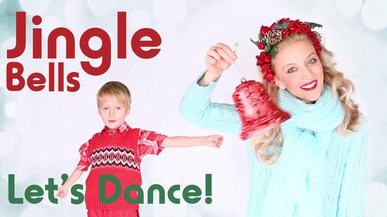 Jingle Bells Song for Children - Let's Dance - YouTube
