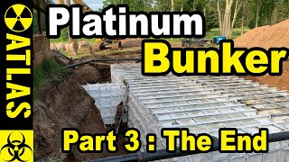 A Completed $500,000 Luxury PLATINUM SERIES Doomsday Bunker