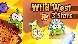 Cut the Rope: Time Travel Game Chapter 8: Wild West 3 Stars Walkthrough