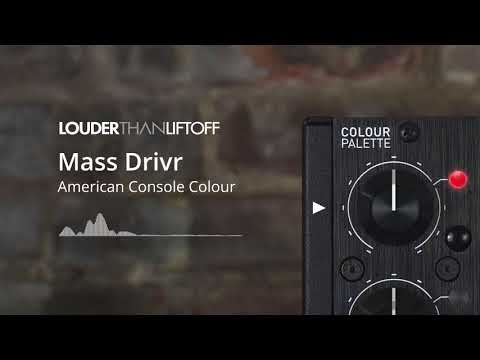 Mass Drivr American Console Colour Samples