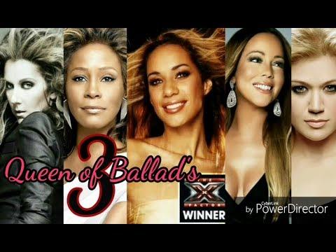 Leona Lewis vs Kelly,Celine,Whitney & Prime Mariah- X factor best live vocals