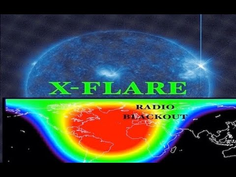Rare X-FLARE causes High Latitude Radio BLACKOUTS as Earth Reacted Nearly INSTANTLY!