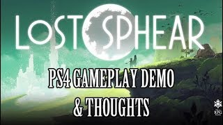 Lost Sphear: Ps4 Demo Gameplay & Thoughts