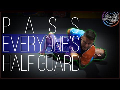 Pass Everyone's Half Guard !