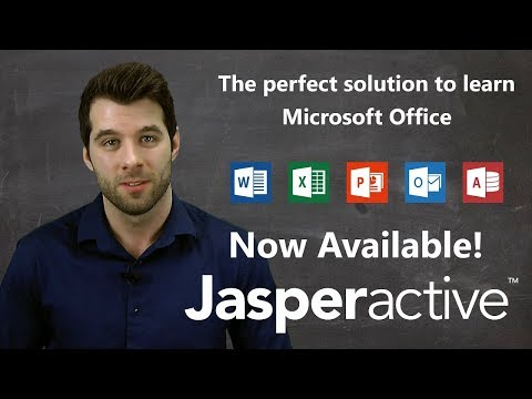 Master Microsoft Office With Jasperactive