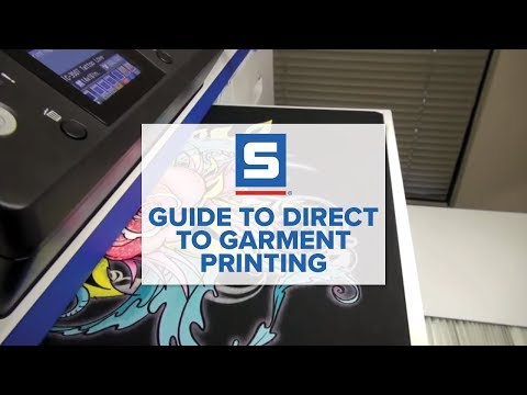 Guide to Direct to Garment Printing