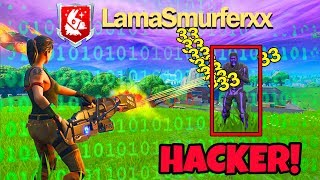 I meet an AIMBOT HACKER in Fortnite, and that happens...