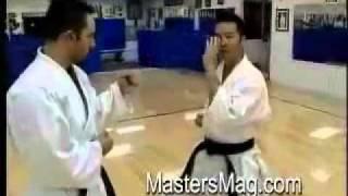 GoSoku Ryu: IKA Shihan Rod Kuratomi (6th Dan) Kumite Drills
