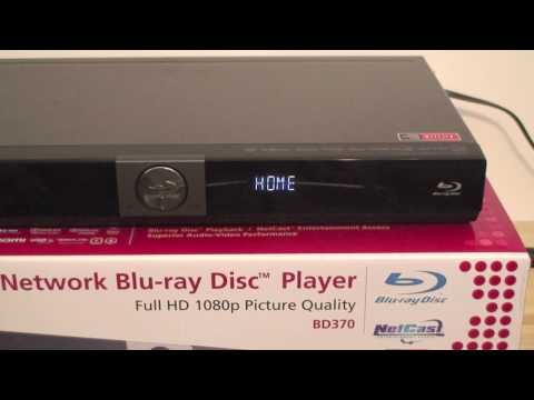 LG BD370 Blue-ray Player Review