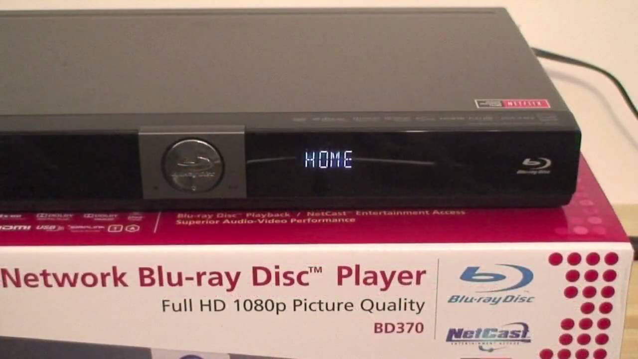 lg bd370 blue ray player review youtube. Black Bedroom Furniture Sets. Home Design Ideas
