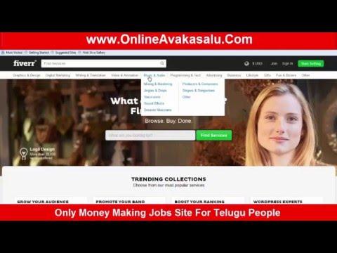 Telugu Online Jobs Fiverr