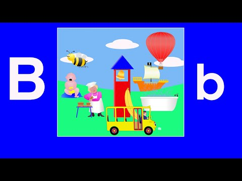 Alphabet Songs - The Letter B