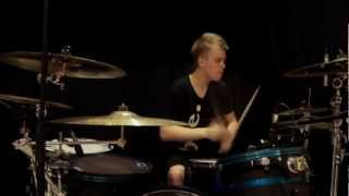 Red - Faceless - Drum Cover - Brooks
