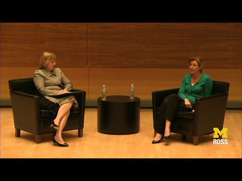 Lessons in Finance: A Conversation with Sallie Krawcheck and Dean Alison Davis-Blake