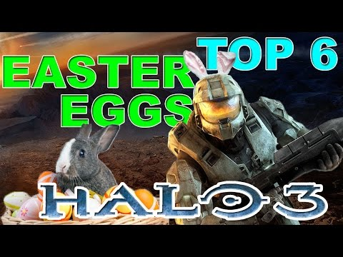 TOP6: Easter Eggs Halo 3