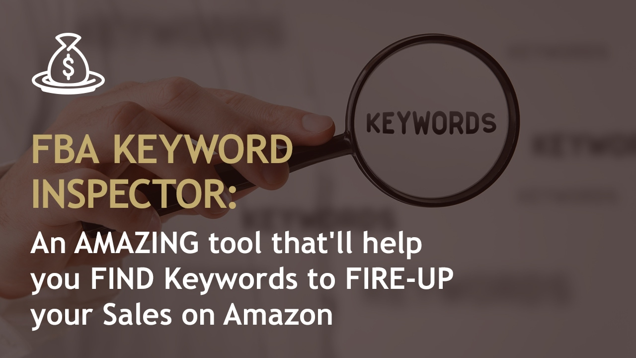 Amazon's AMAZING Tool - The keyword Inspector, which will help you FIND Keywords (Reverse ASIN)  - Buy American