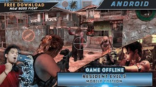 Resident Evil 5 Mobile Edition | Ada Boss nya Juga | Game Android Indonesia