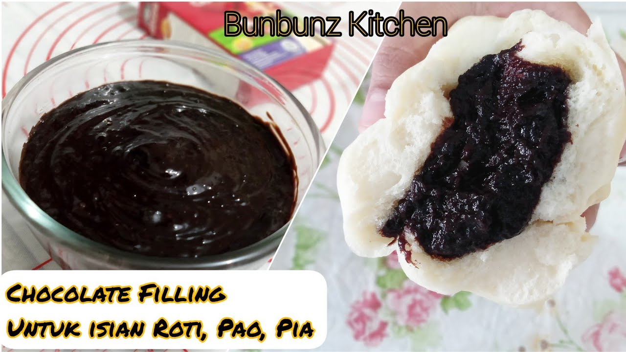 Cara Membuat Chocolate Filling Untuk Isian Roti Enak Dan Lumer Youtube