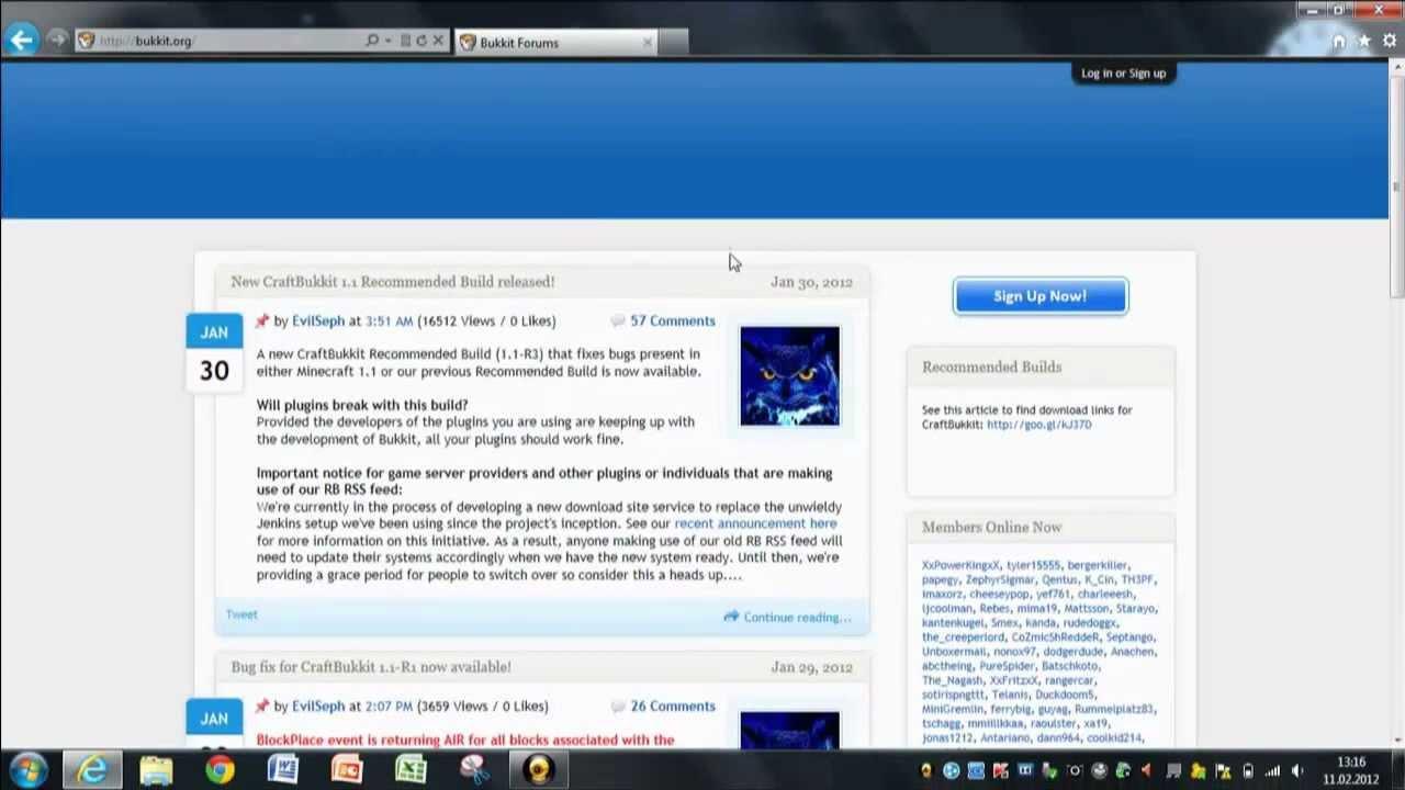 Bukkit Server Erstellen - Minecraft craftbukkit server erstellen