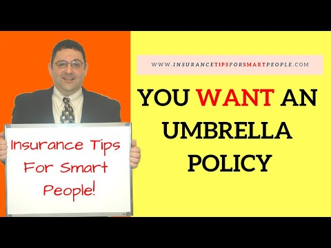 Insurance Tips For Smart People - You WANT an Umbrella Policy? - Ray Alkalai
