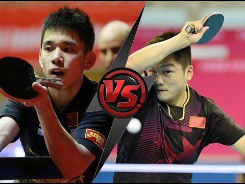Table Tennis Chinese League 2016/17 - Kong Lingxuan Vs Fan Zhendong -