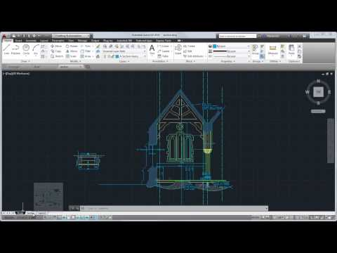 AutoCAD 2014 Tour:  Overview of the User Interface
