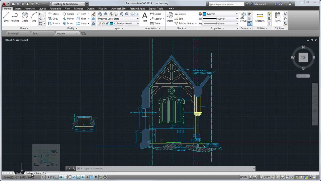 Autocad 2014 Tour Overview Of The User Interface Youtube