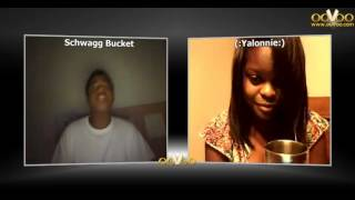 Me n Ma Boo on ooVoo - Me Tryna Rap Lmfao