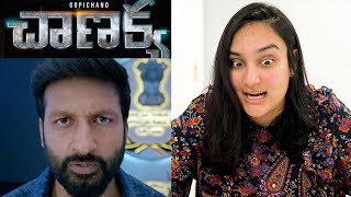Chanakya Teaser REACTION | Gopichand | Mehreen | Zareen Khan!