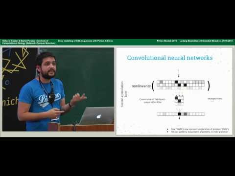 Martin Preusse, Gökcen Eraslan - Deep modeling of DNA sequences with Python & Keras