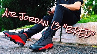 "HOW TO STYLE - AIR JORDAN RETRO 13 ""BRED"" - ON FEET & OUTFITS"