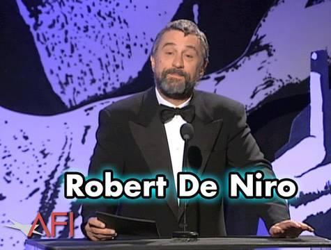 Robert De Niro Salutes Martin Scorsese at the AFI Life Achievement Award
